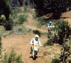 Illegal trails photo