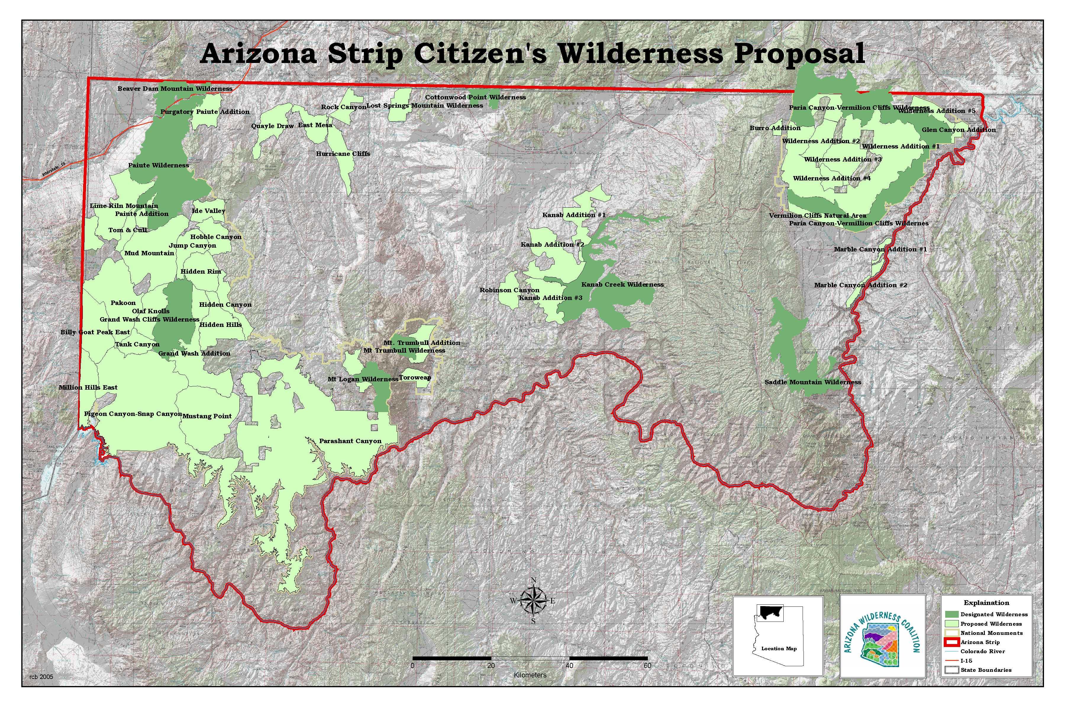 Map Of Arizona Strip.Map Of Arizona Strip Twitterleesclub